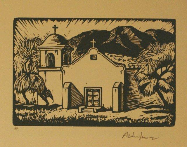 Andy Chuka, Linocut Block Prints,
