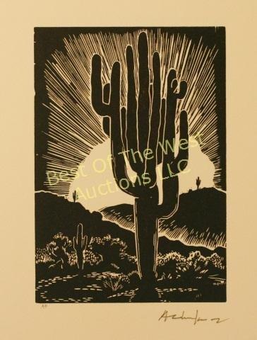 Andy Chuka, Linocut Block Prints, - 2