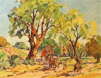 Marjorie Reed (1915-1997), Oil on Artist Board,
