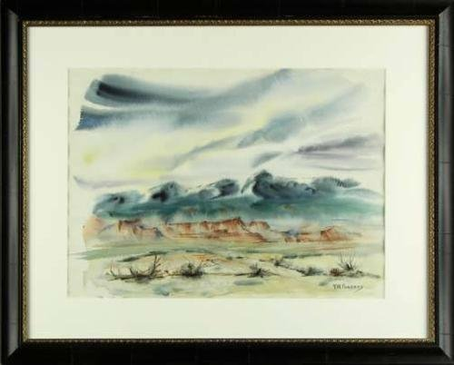 Florence W. Pomeroy (1890-1981), Watercolor