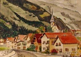 Burglen Mcgrath, Watercolor,