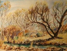 Ben Mickelson, Watercolor,