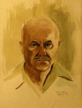 Fred Mcgrath, Watercolor,