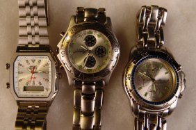 Wristwatch Set Of 3, Ronica,
