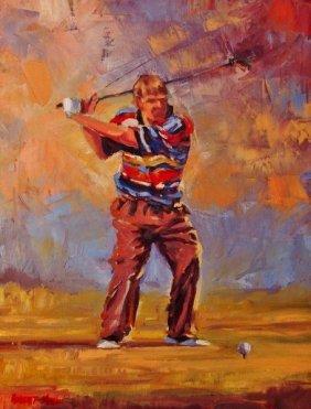 Robert Mason, Oil On Canvas,