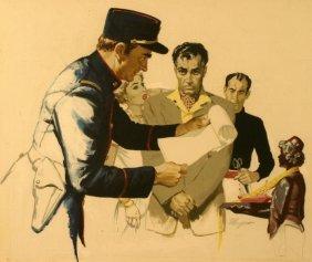 Robert Meyers, (1919-1970), Saturday Evening Post,
