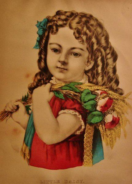 Currier and Ives Lithograph,