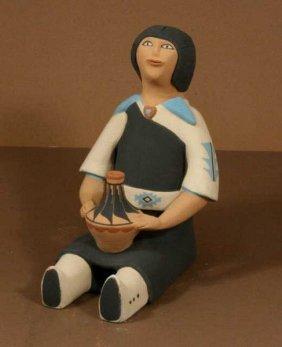 Pottery Figure,