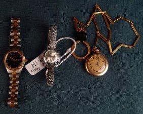 Set Of 3 Ladies Watches,
