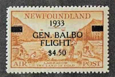 NEWFOUNDLAND BALBO FLIGHT