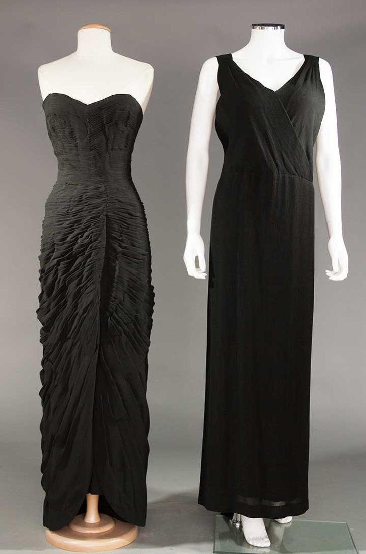 MOLYNEUX COUTURE & GUGGENHEIM GOWNS, 1930-1950s