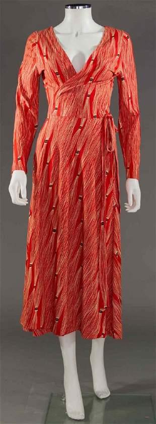 VON FURSTENBERG WRAP DRESS, 1970s