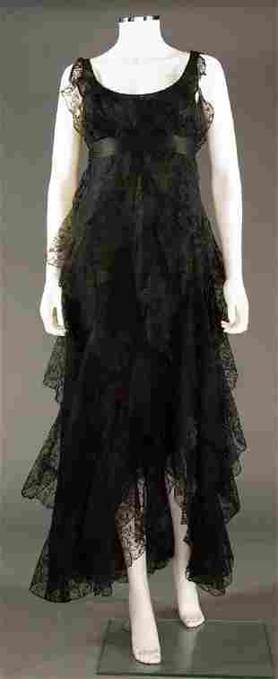 DIOR ?? LABELED EMPIRE EVENING DRESS