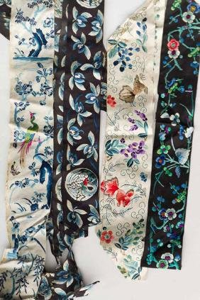 EMBROIDERED BANDS & EDGINGS, CHINA