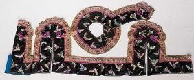 EMBROIDERED VALANCE EDGING, CHINA