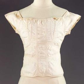 TEEN GIRL'S CORSET, 1820-1830