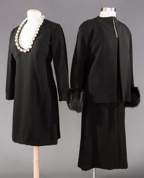 DONALD BROOKS & PAULINE TRIGERE DRESSES
