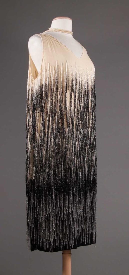 OMBRE BEADED FRINGE DRESS, 1920s - 2