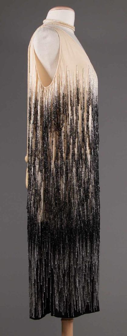 OMBRE BEADED FRINGE DRESS, 1920s - 3