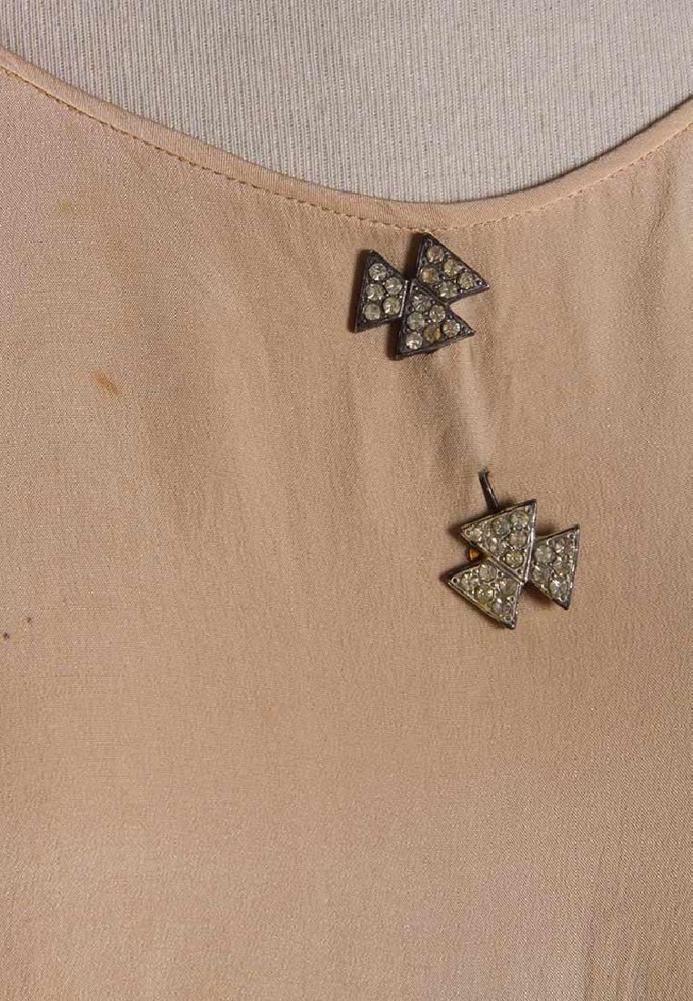 TWO BIAS-CUT EVENING DRESSES, 1930s - 6