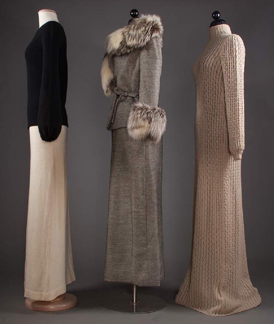 THREE ADOLFO GARMENTS, 1970s - 2