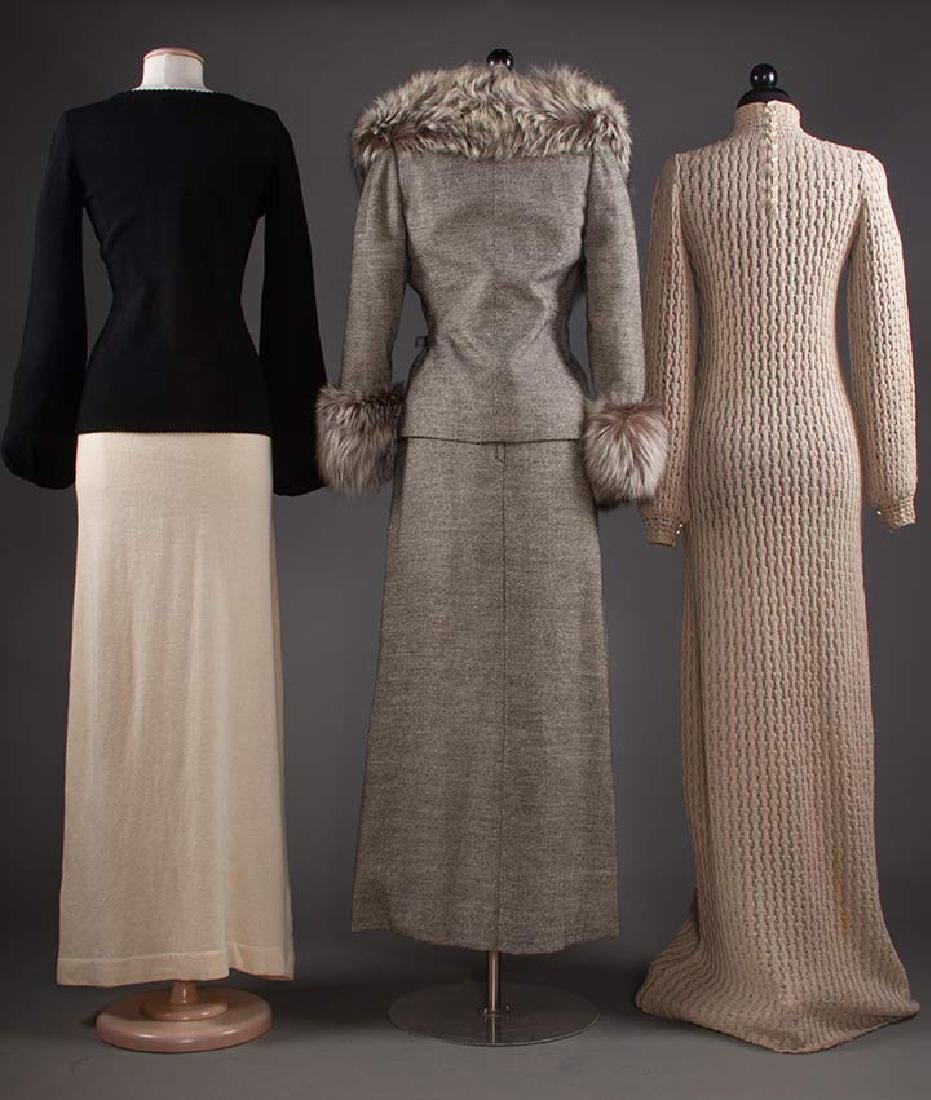 THREE ADOLFO GARMENTS, 1970s - 3