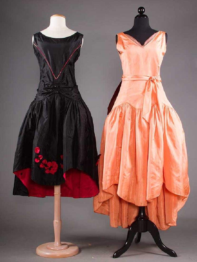 TWO SILK ROBES DE STYLE, 1920s