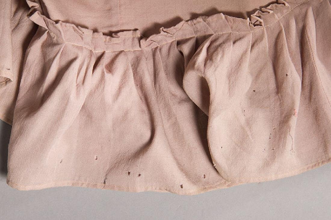 3 LADIES' AT-HOME WRAPPERS, 19TH C - 10