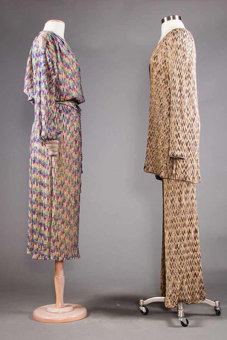 TWO MISSONI EVENING OUTFITS, 1970s - 2