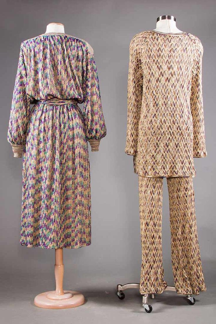 TWO MISSONI EVENING OUTFITS, 1970s - 3