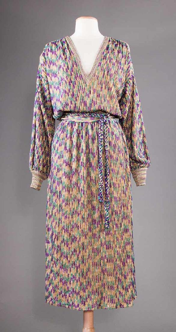TWO MISSONI EVENING OUTFITS, 1970s - 4
