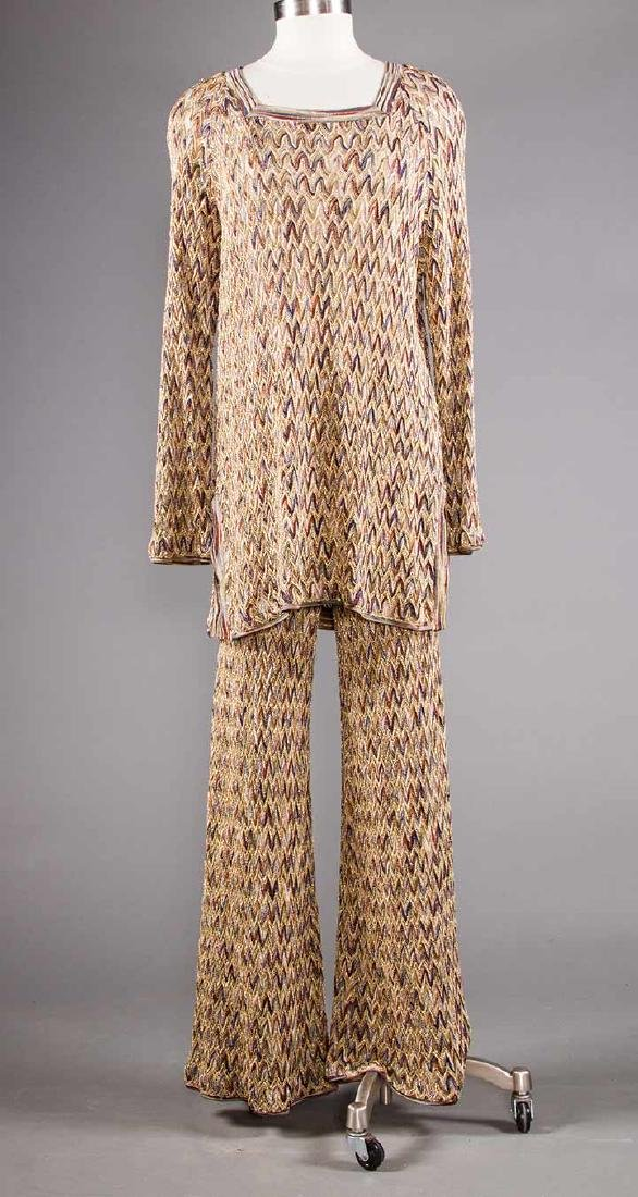 TWO MISSONI EVENING OUTFITS, 1970s - 5