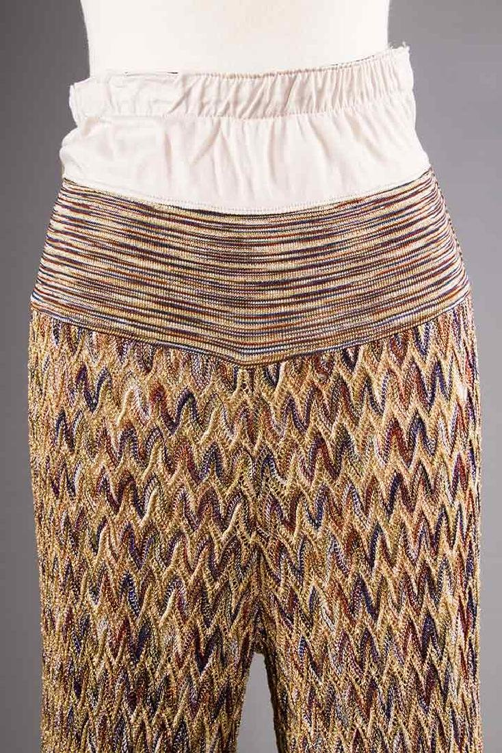 TWO MISSONI EVENING OUTFITS, 1970s - 6