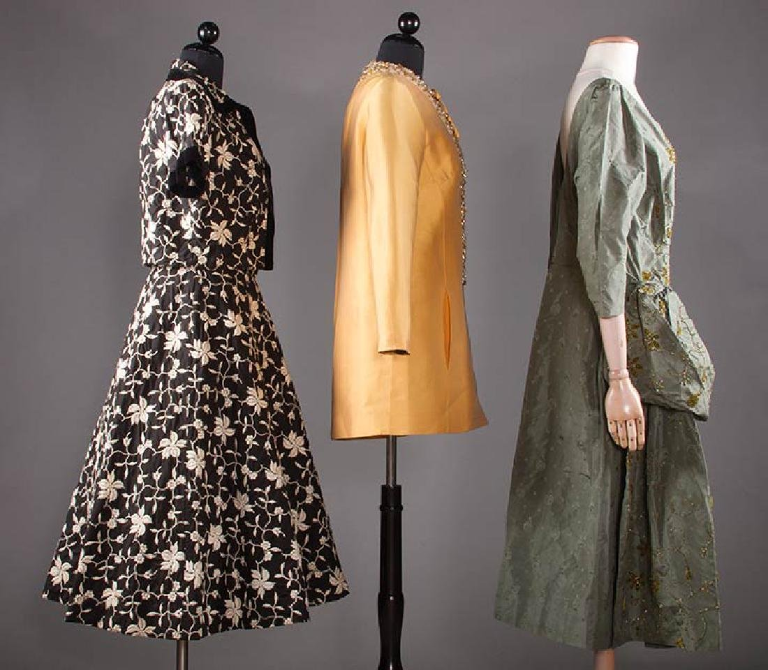 THREE COCKTAIL DRESSES, 1955-1965 - 2
