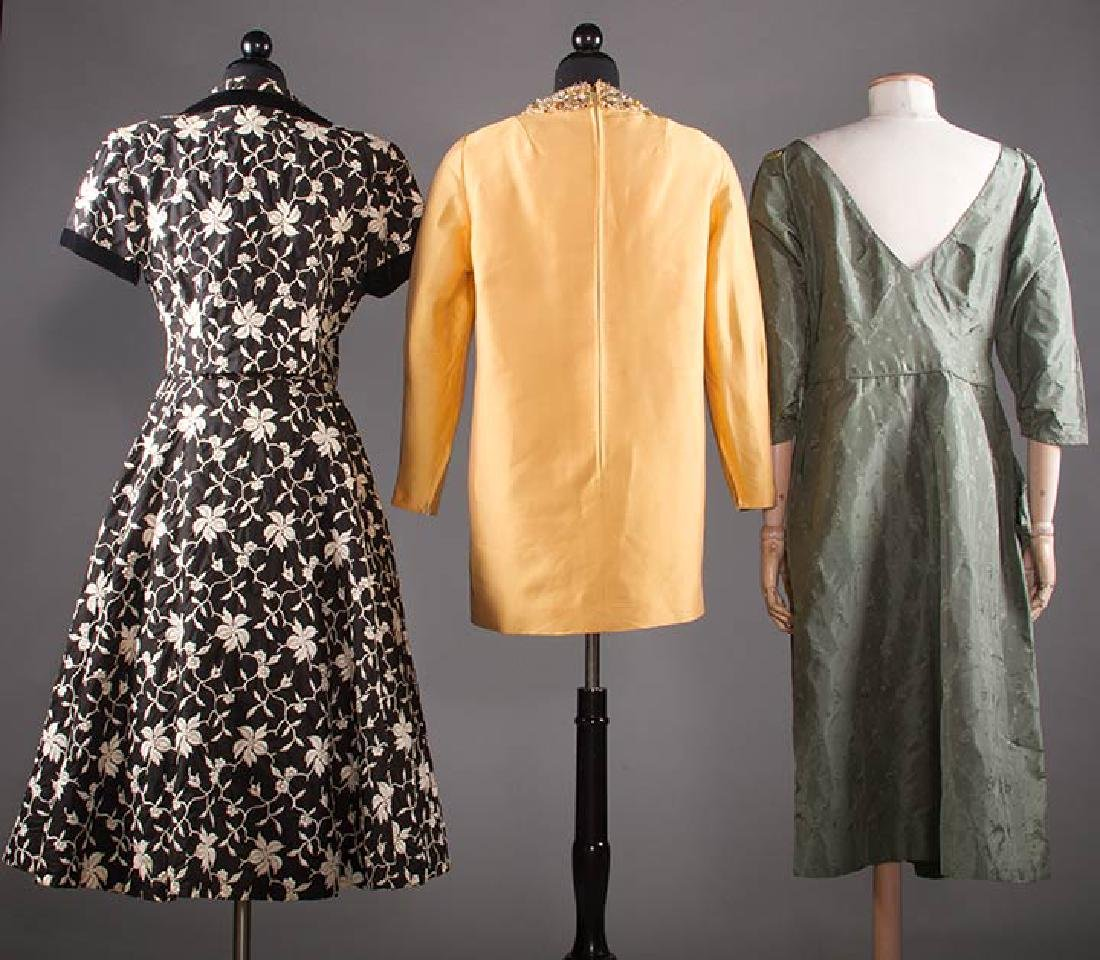 THREE COCKTAIL DRESSES, 1955-1965 - 3