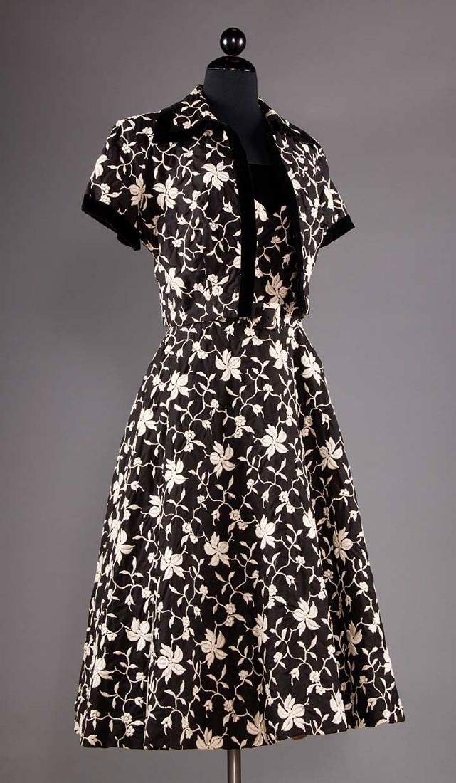 THREE COCKTAIL DRESSES, 1955-1965 - 4