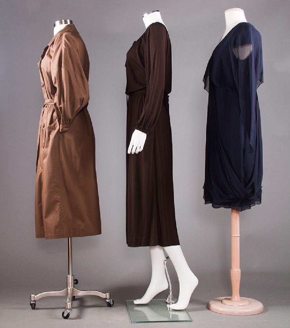 THREE DESIGNER GARMENTS, 1970-1980s - 2