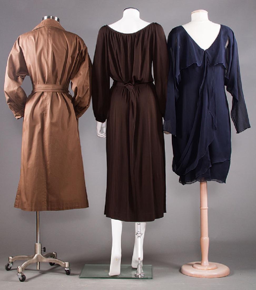 THREE DESIGNER GARMENTS, 1970-1980s - 3