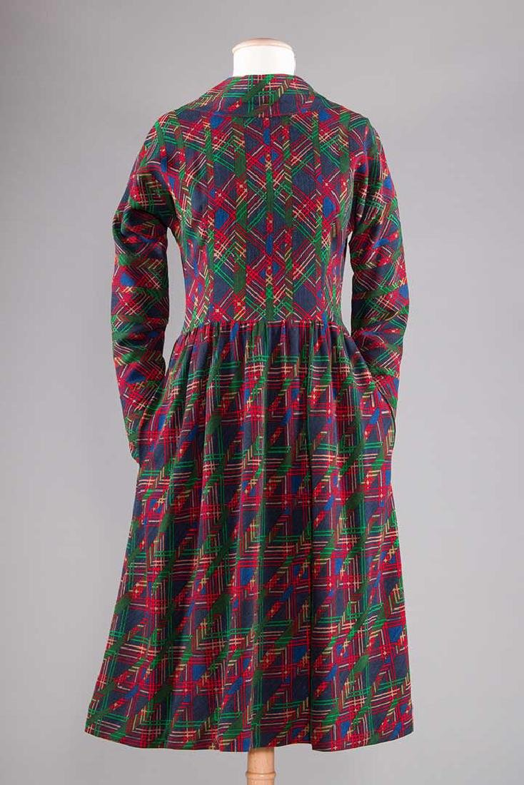THREE PAULINE TRIGERE DRESSES, 1970s - 4