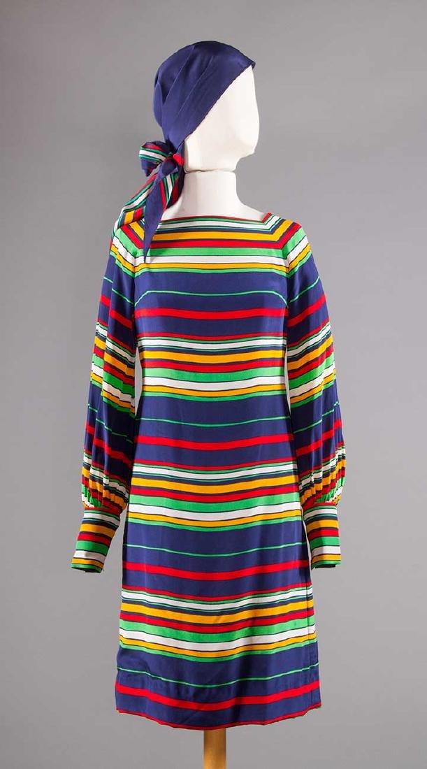 THREE PAULINE TRIGERE DRESSES, 1970s - 6