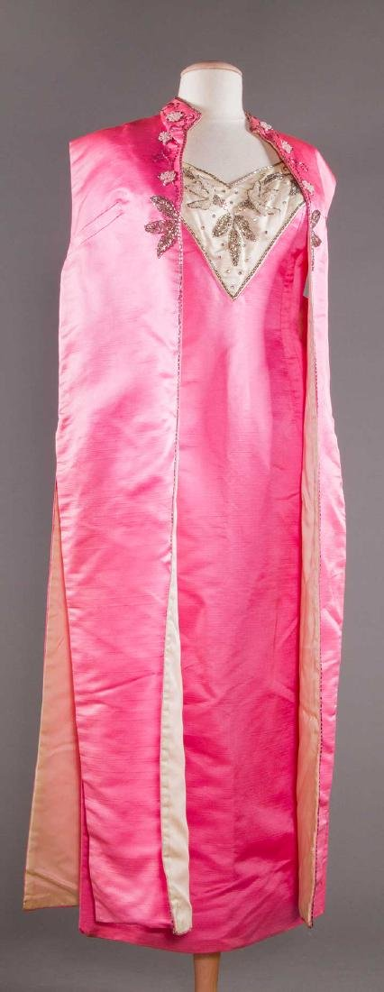 THREE EVENING GOWNS, 1960-1970s - 5