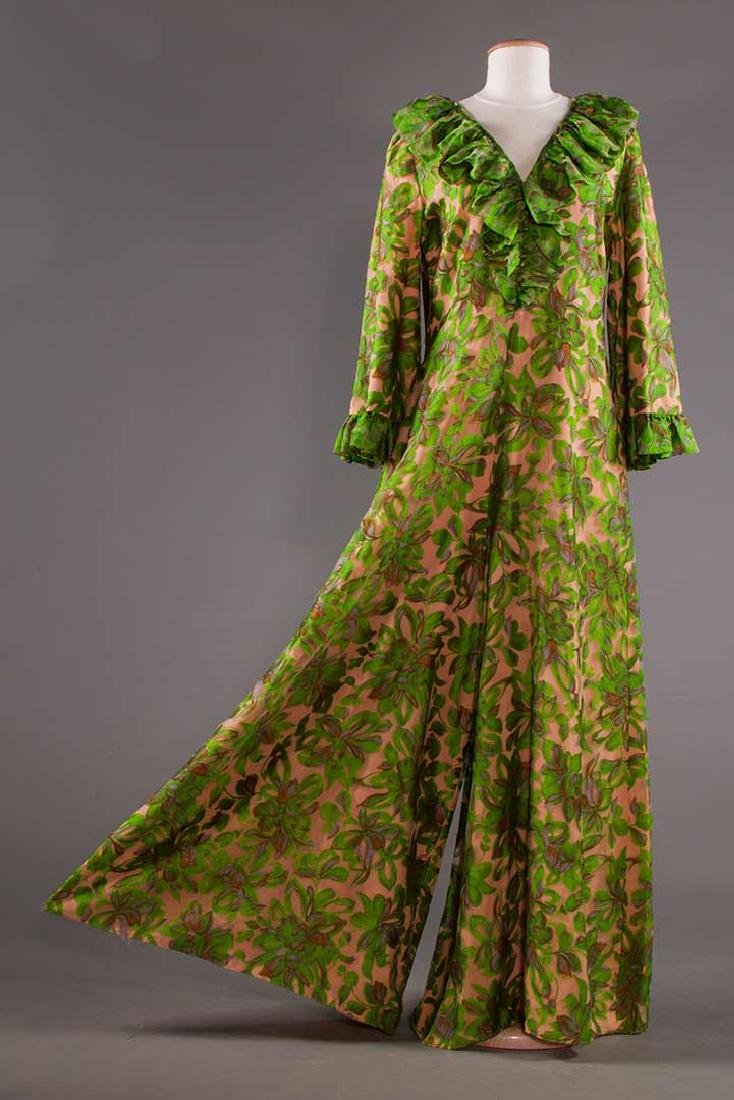 THREE EVENING GOWNS, 1960-1970s - 8