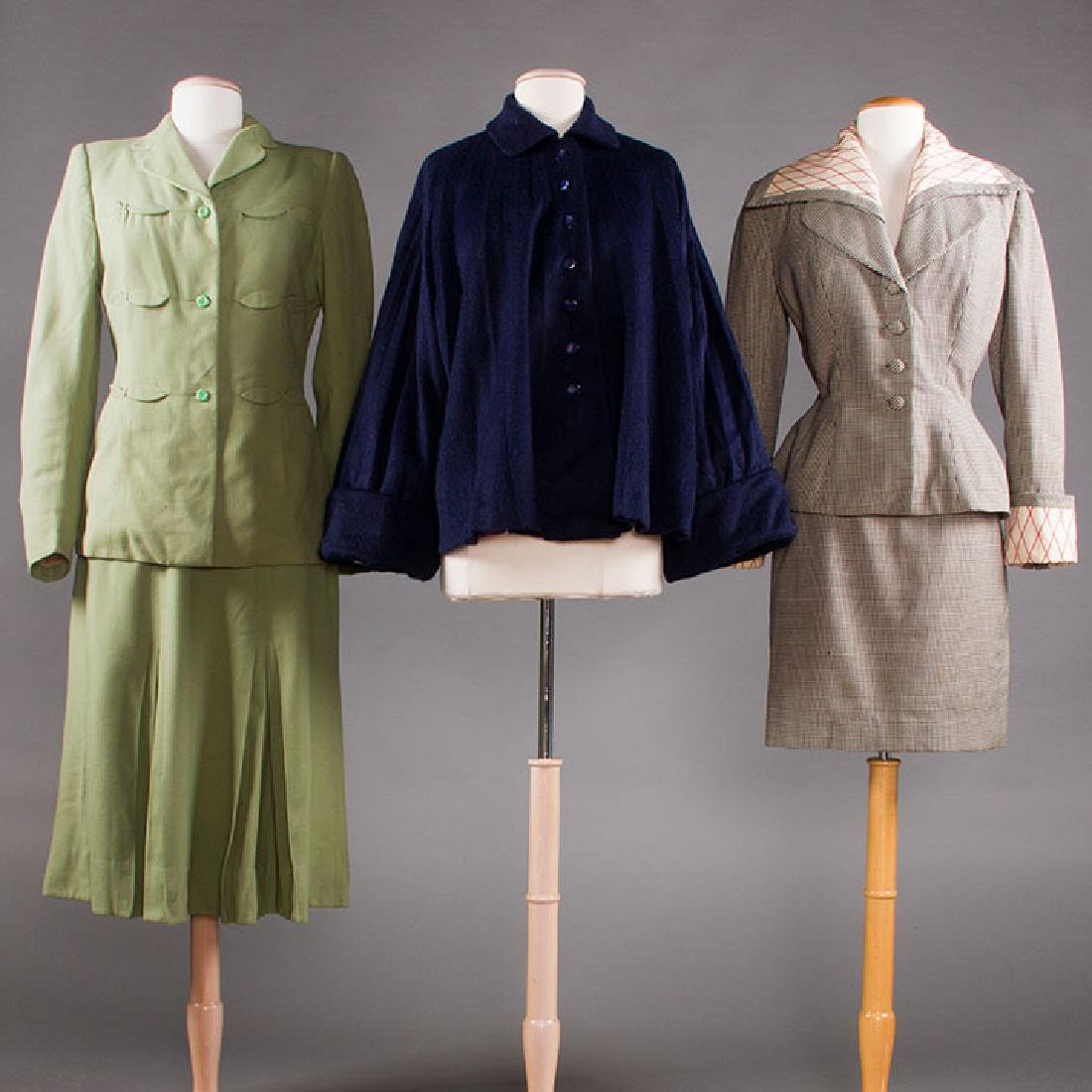 2 LILLI ANN WOOL GARMENTS, 1940-1950