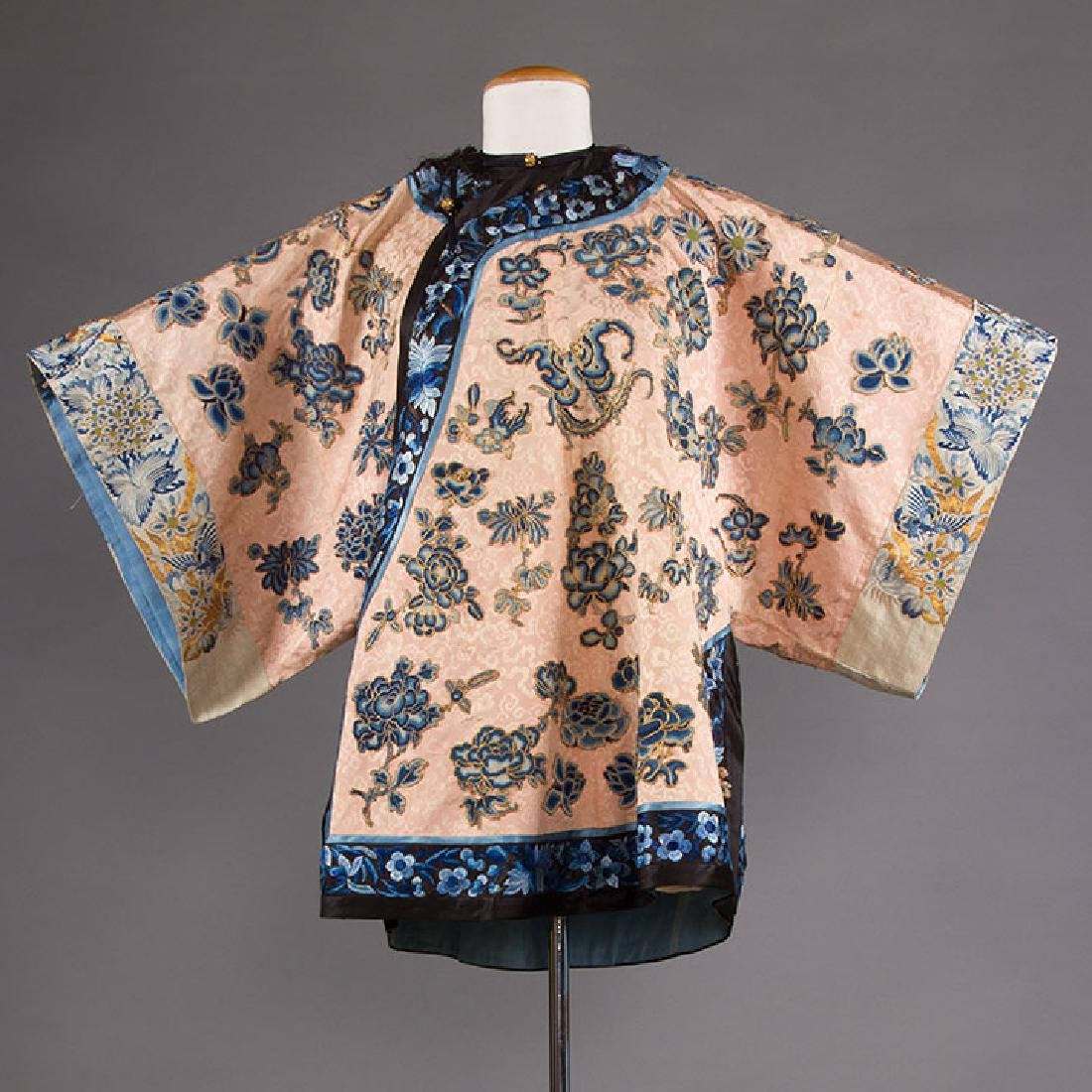 BLUE EMBROIDERED PINK JACKET, CHINA