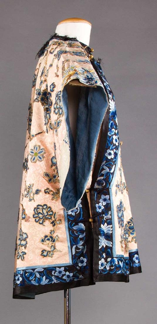 BLUE EMBROIDERED PINK JACKET, CHINA - 2