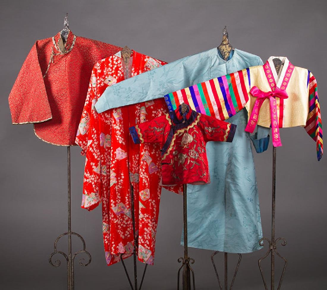 5 CHILDRENS' JACKETS & COATS, ASIA