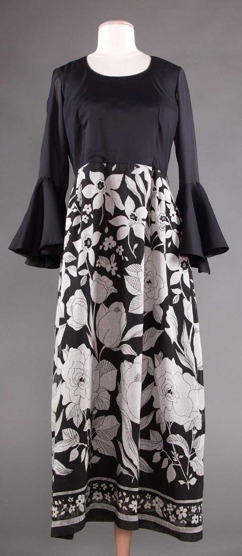 FIVE WOMENS' DRESSES, 1960s - 4