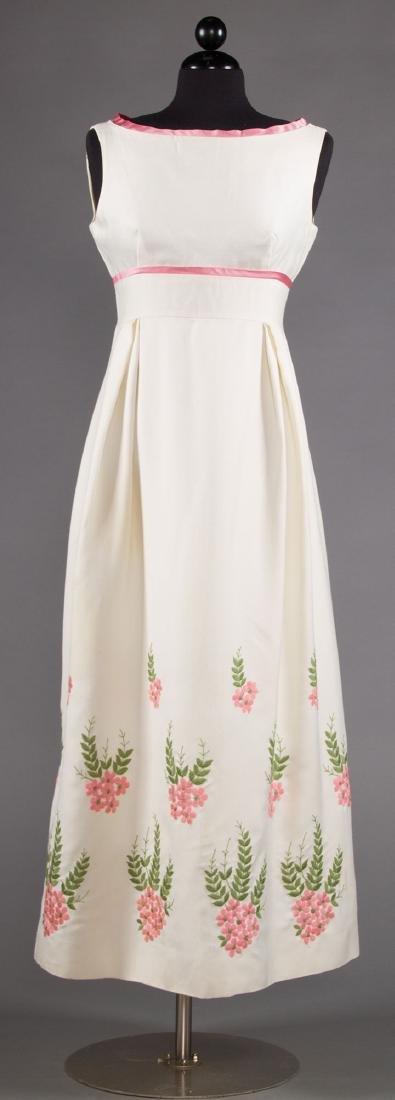 FIVE WOMENS' DRESSES, 1960s - 8