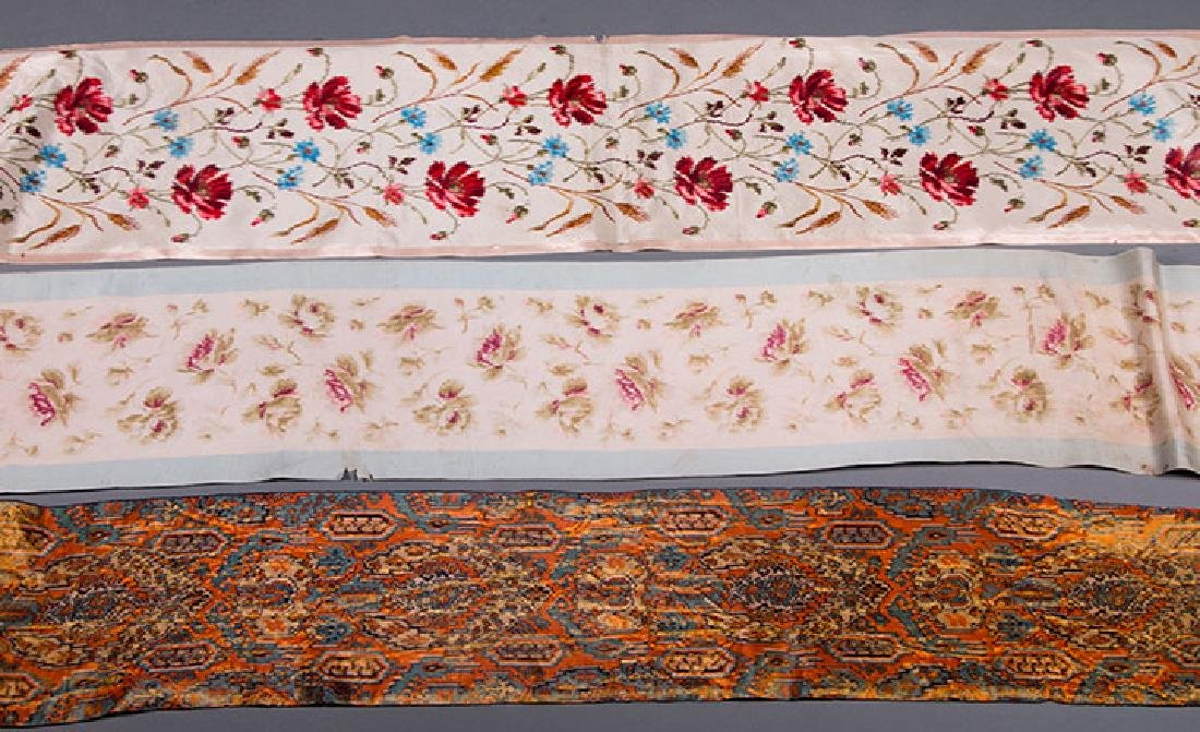 PATTERNED WIDE RIBBONS, 1880-1918 - 3