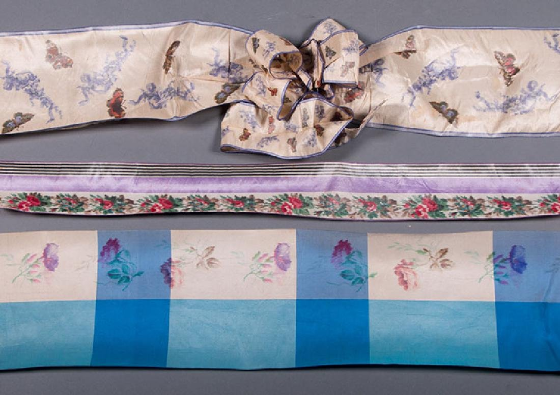 PATTERNED WIDE RIBBONS, 1880-1918 - 5